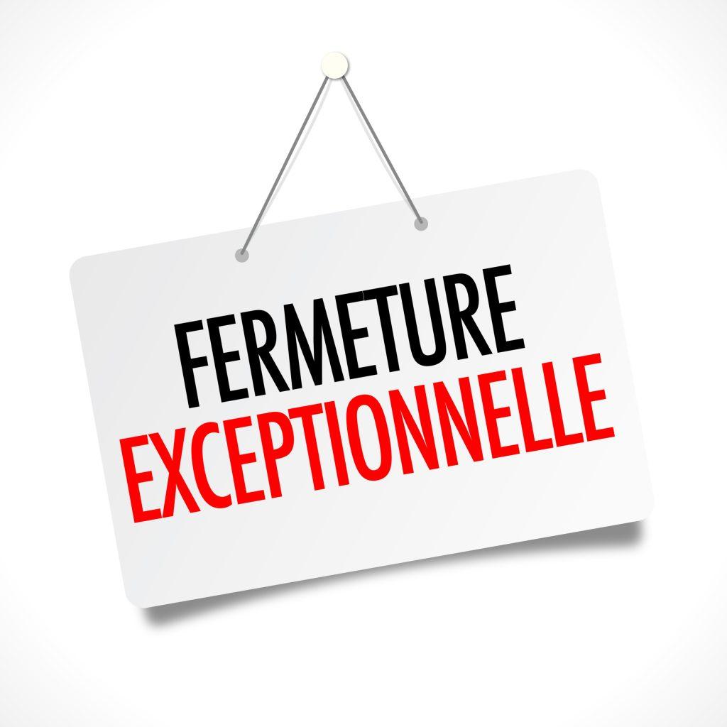 Fermeture exceptionnelle de la mairie - Lundi 18 février 2019 à partir de 12h