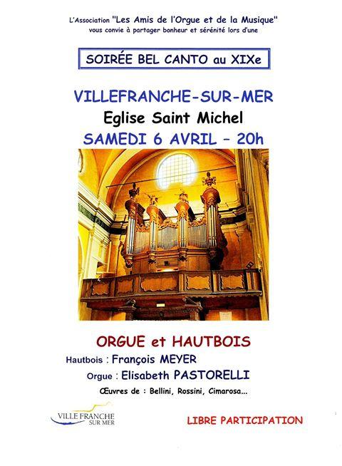 Concert à l'église Saint-Michel - Les Amis de l'Orgue et de la Musique