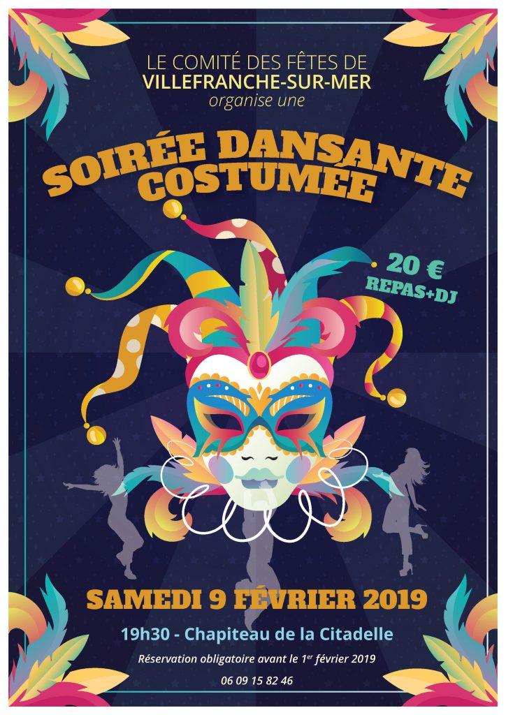 Soirée Dansante Costumée @ Chapiteau de la Citadelle