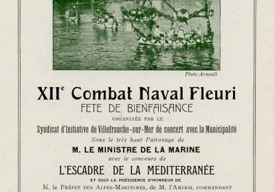 Combat Naval Fleuri visuel ancienne plaquette 2