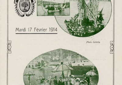 Combat Naval Fleuri visuel anciennne plaquette