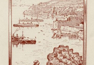 Combat Naval Fleuri visuel couv programme 1906