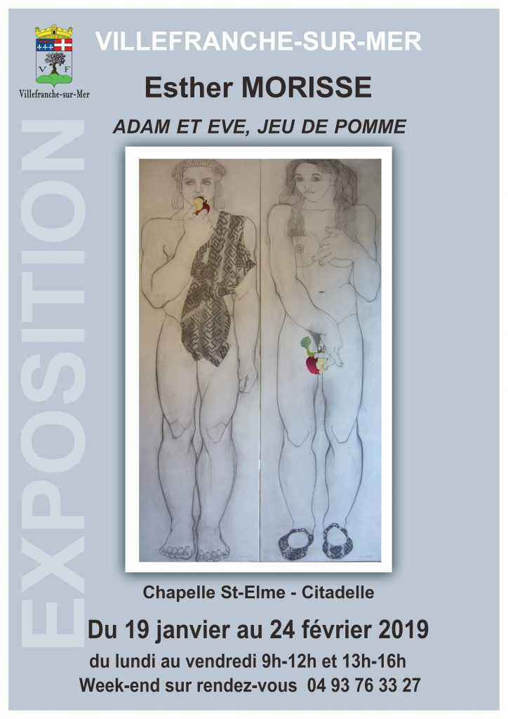 Vernissage de l'exposition Esther MORISSE @ Chapelle Saint-Elme