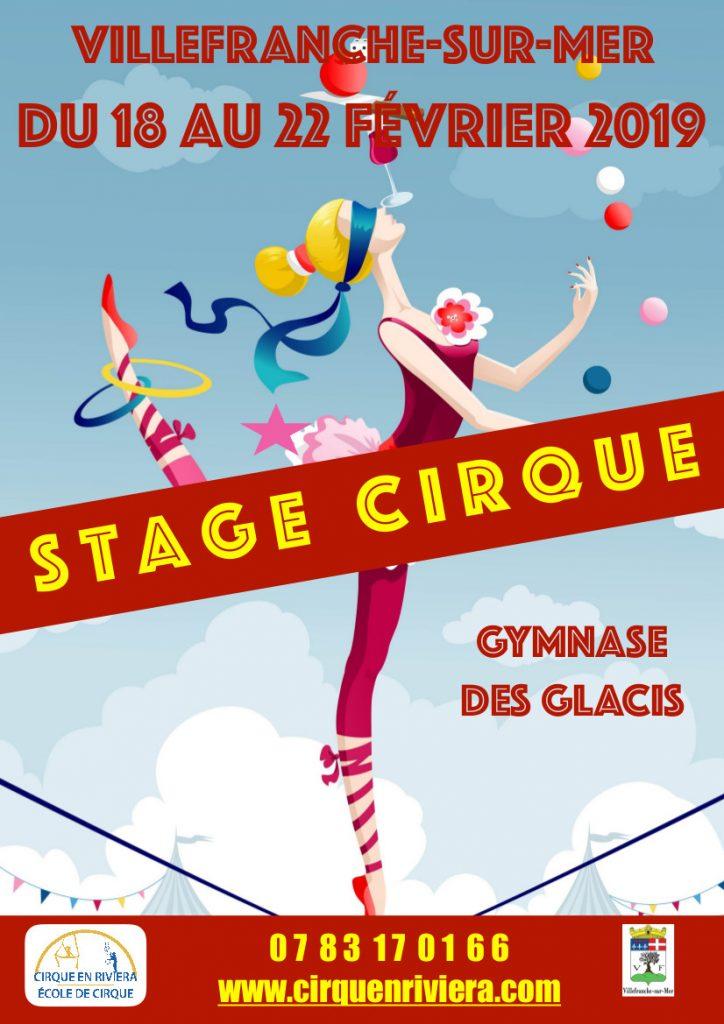 Stage Cirque - CIRQUENRIVIERA @ Gymnase des Glacis