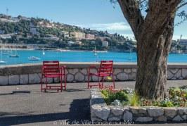 Les Chaises Rouges de Villefranche-sur-Mer