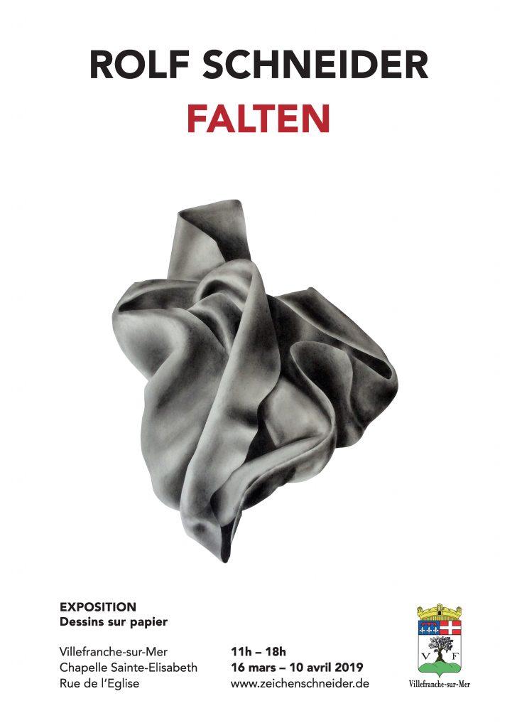 Exposition Dessin sur papier - Rolf Schneider du 16 mars au 10 avril 2019