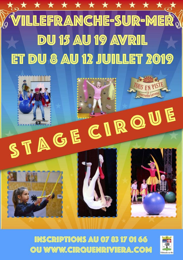 Stage de cirque - Association Cirque en Riviera