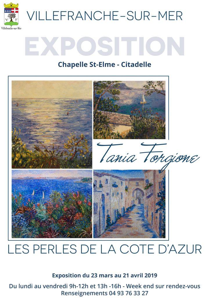"""Vernissage et Exposition """"Les perles de la Côte d'Azur"""" @ Chapelle St-Elme"""