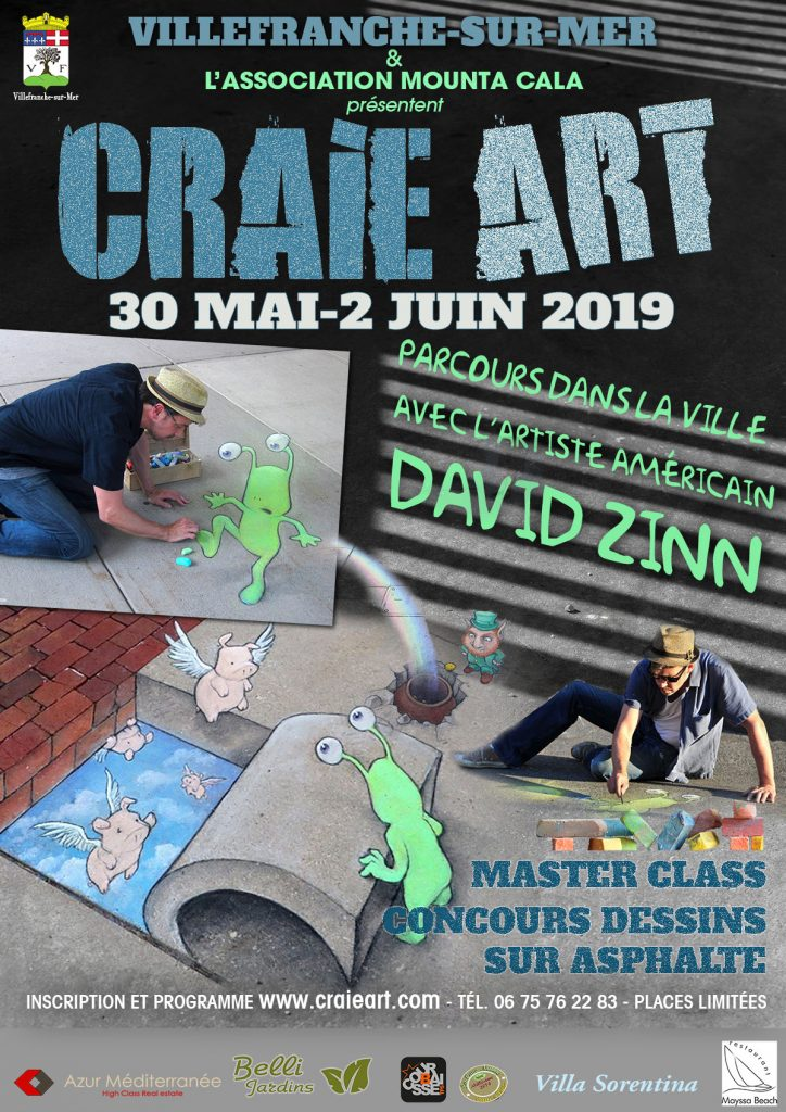 CRAIE ART - MasterClass en compagnie de David Zinn @ Gymnase des Glacis