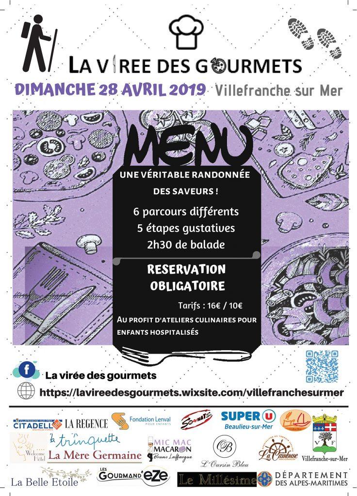 La virée des gourmets - Dimanche 28 avril 2019 @ Plage des Marinières