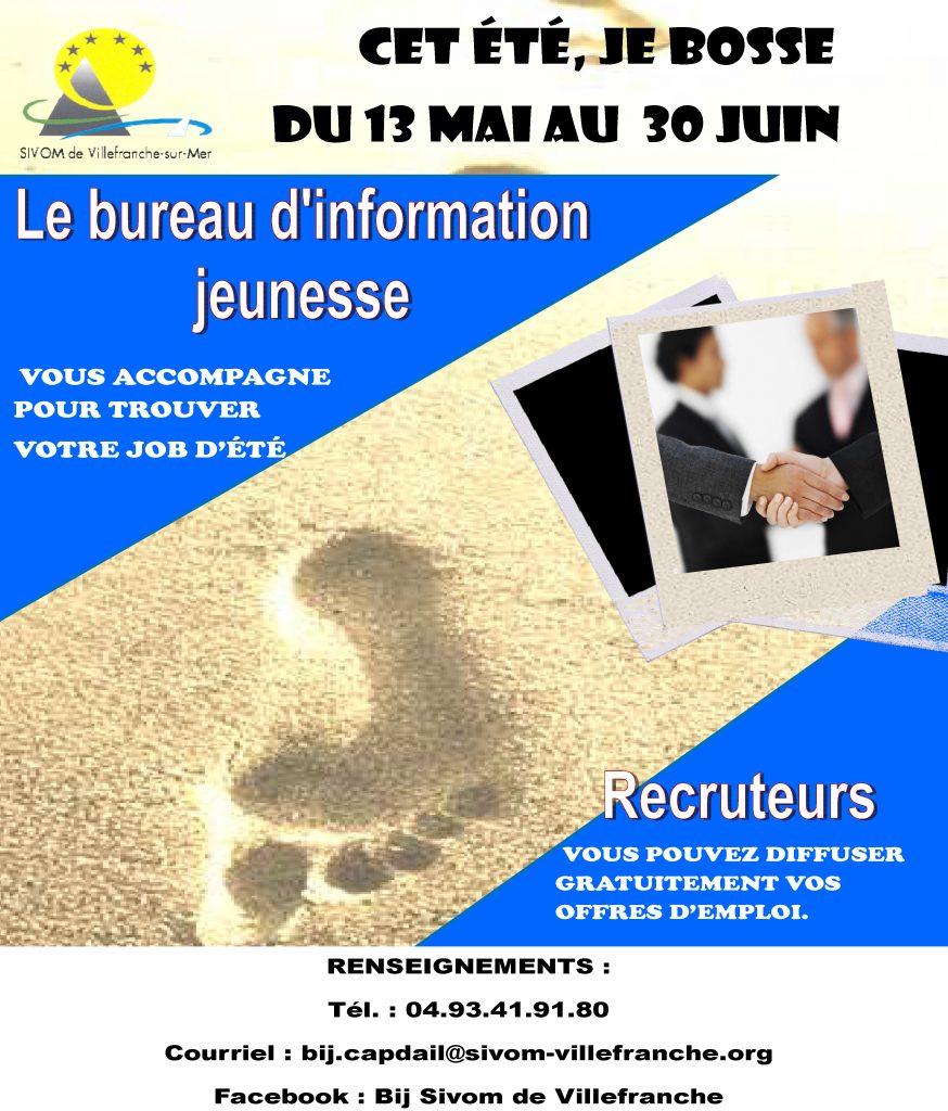 """Bureau d'information jeunesse - """"Cet été, je bosse"""""""