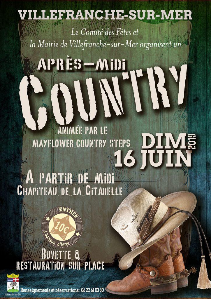 Après-Midi COUNTRY - Dimanche 16 Juin 2019 @ Chapiteau de la Citadelle
