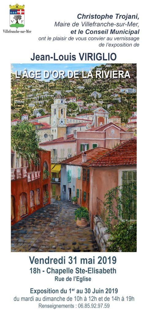 Exposition - L'Âge d'or de la Riviera - Du mardi au dimanche de 10h à 12h - 14h à 19h @ Chapelle Sainte Elisabeth
