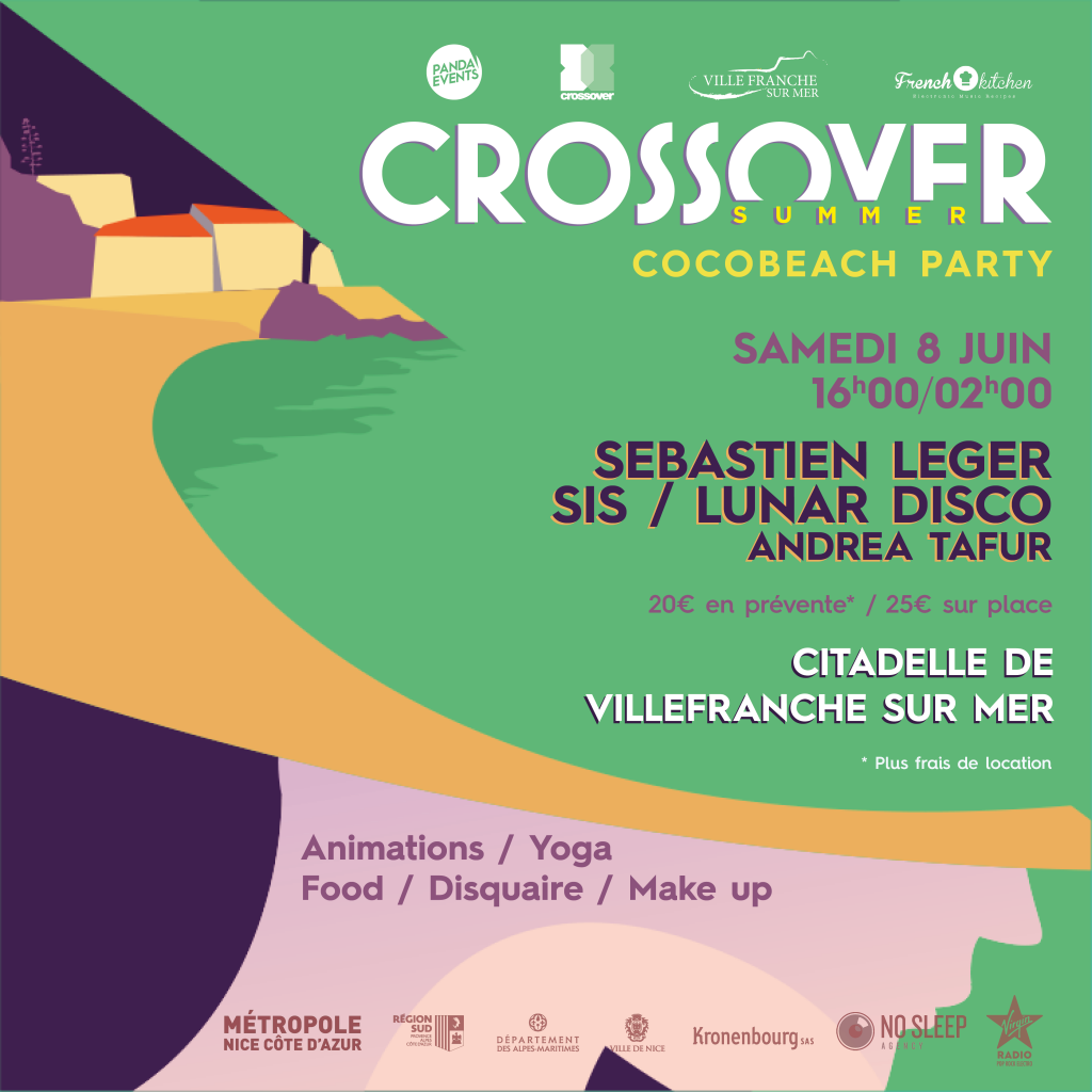 Crossover 2019 - COCOBEACH Party @ La Citadelle