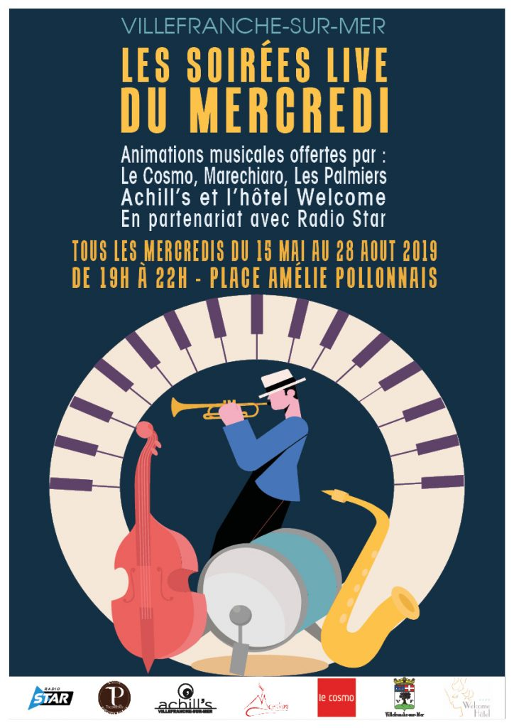 Les soirées live du mercredi @ Place Amélie Pollonnais