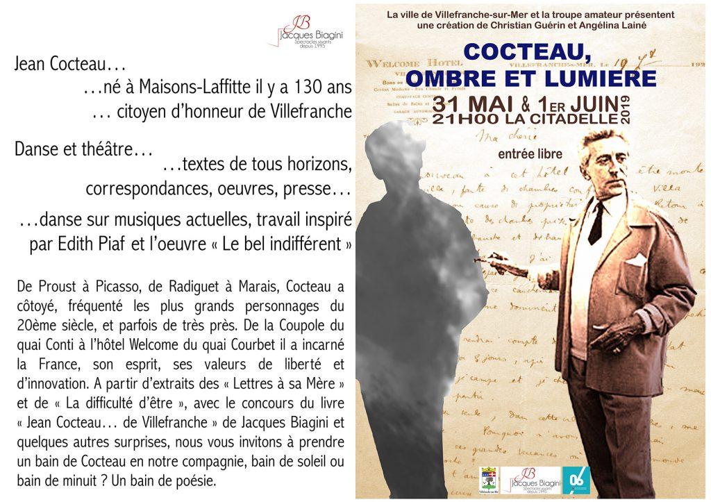 Cocteau, Ombre et lumière - Entrée Libre @ La Citadelle