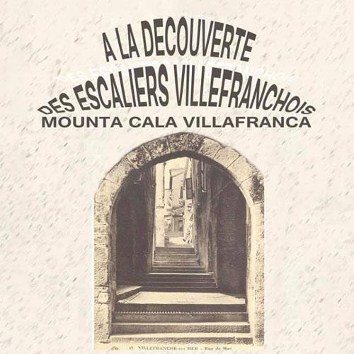 A la découverte des escaliers villefranchois - Mounta Cala