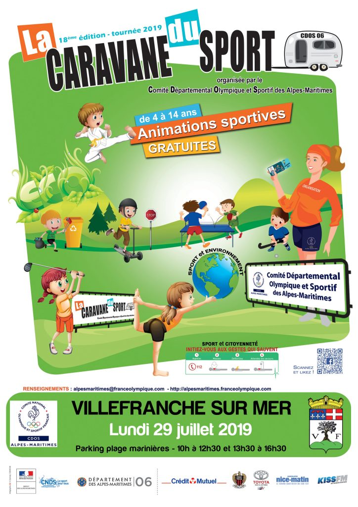 18 ème édition - La Caravane du Sport @ Parking plage des Marinières