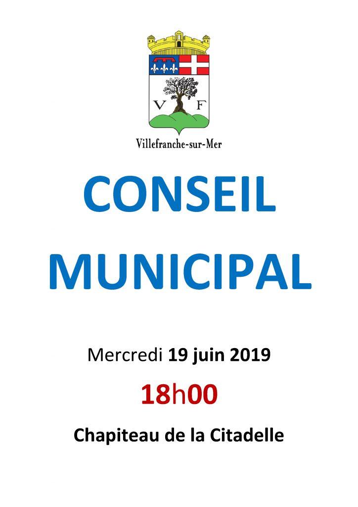 Conseil Municipal - Mercredi 19 Juin 2019 @ Chapiteau de la Citadelle