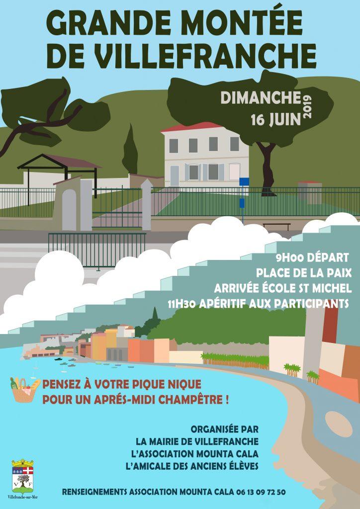 Grande montée de Villefranche