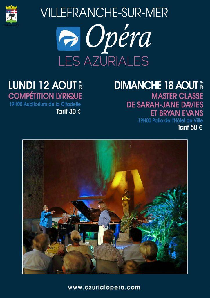 Les Azuriales @ Auditorium & Patio de l'Hôtel de Ville - Citadelle