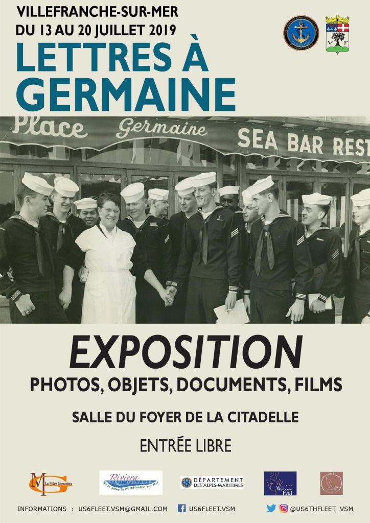 """Exposition - """"Lettres à Germaine"""""""