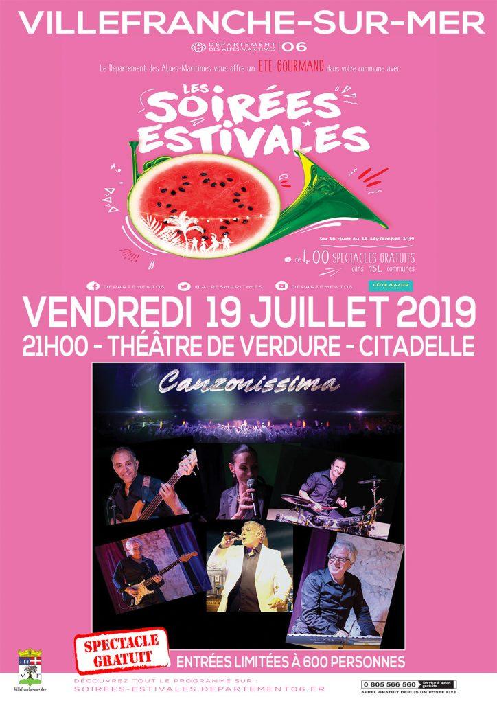 Les Soirées Estivales @ Théâtre de Verdure, La Citadelle