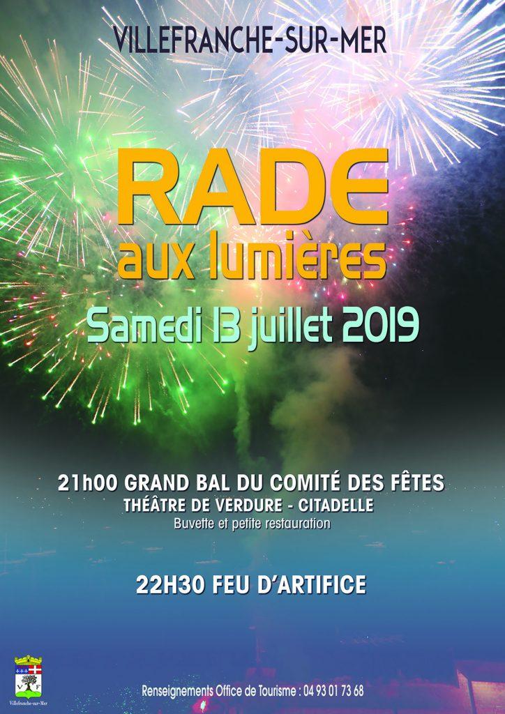 La Rade aux Lumières - Grand Bal du comité des fêtes - Samedi 13 juillet 2019 @ Théâtre de Verdure, La Citadelle