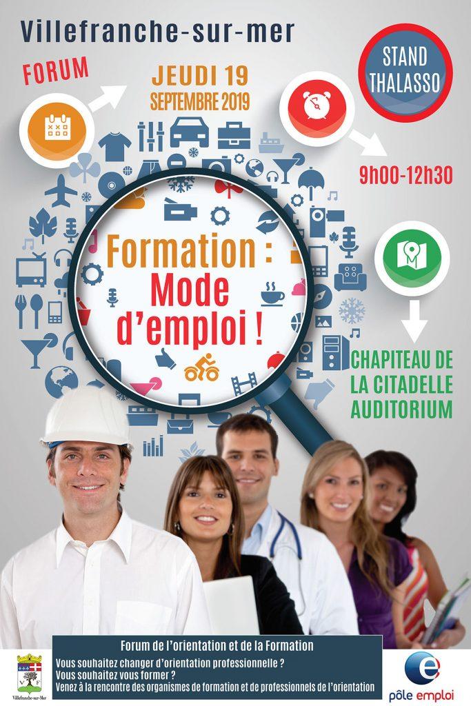 Forum formation : Mode d'emploi ! @ Chapiteau de la Citadelle & Auditorium
