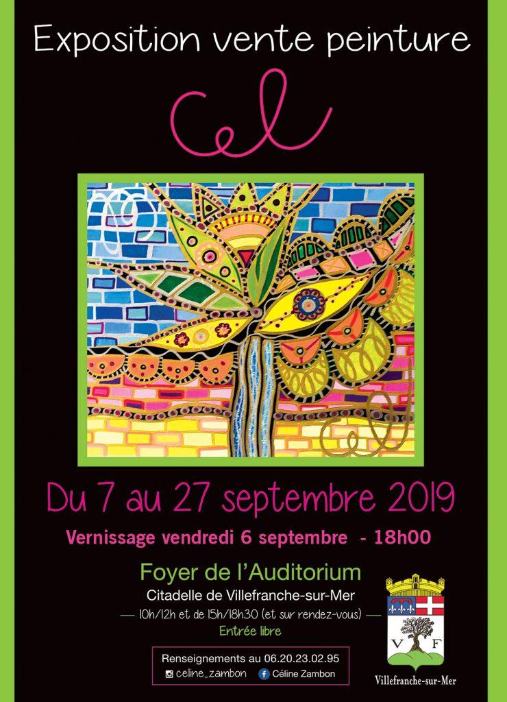 Vernissage et Exposition de Celine Zambon @ Foyer de l'Auditorium