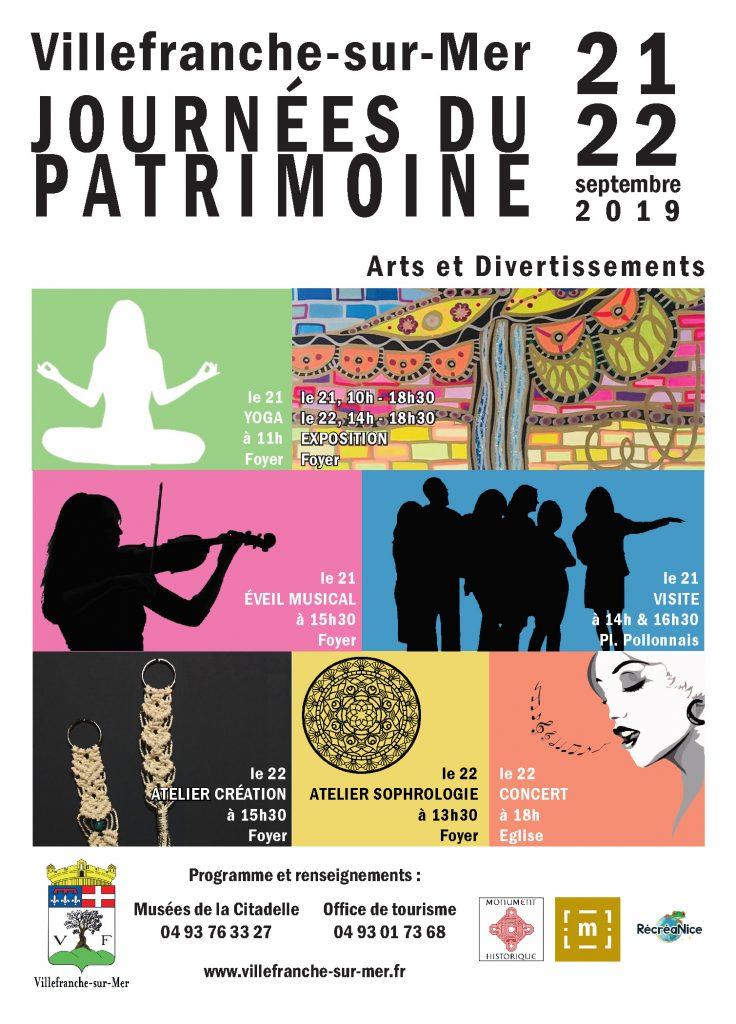 Les Journées du Patrimoine de Villefranche-sur-Mer