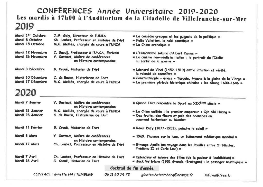 """Les Mardis de la Citadelle – Conférence : """"Léonard de Vinci (1452-1519) entre intuition et vérité, la volonté de connaître"""" @ Auditorium - Citadelle"""