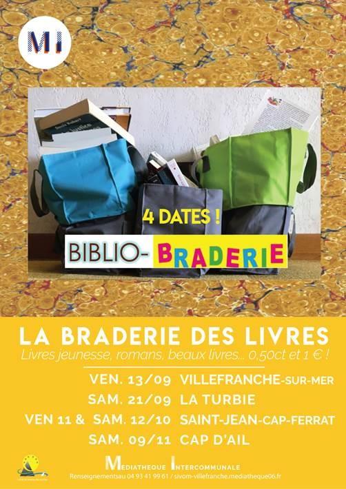 Biblio - Braderie