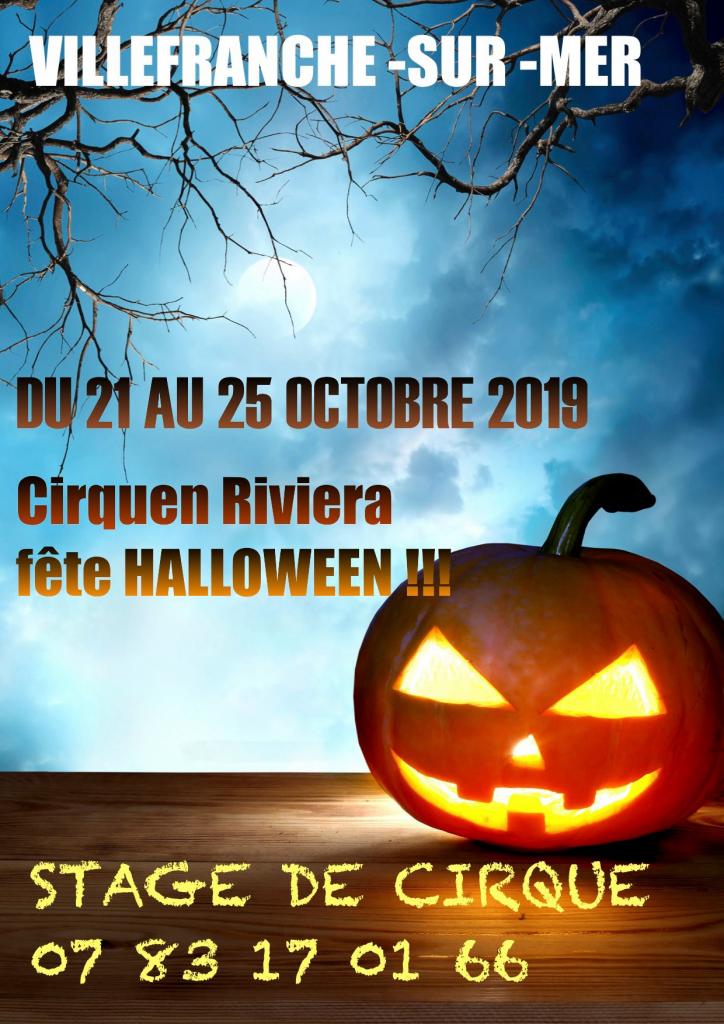 Stage Halloween - Cirquen Riviera