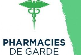 Pharmacie de garde pour l'année 2020
