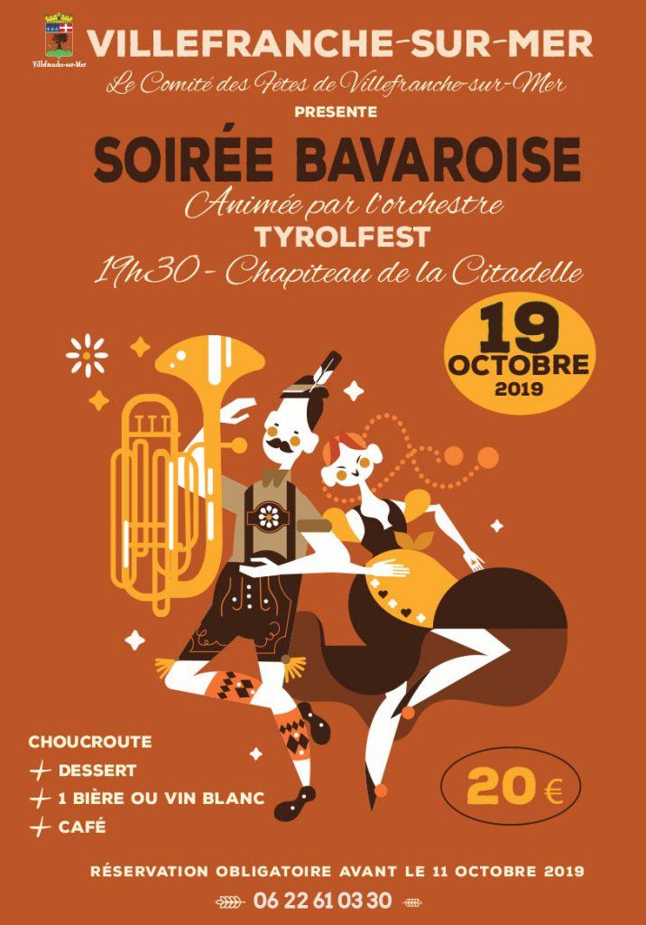 Soirée Bavaroise aimée par l'orchestre TYROLFEST - Réservation obligatoire avant le 11 Octobre 2019 @ Chapiteau de la Citadelle