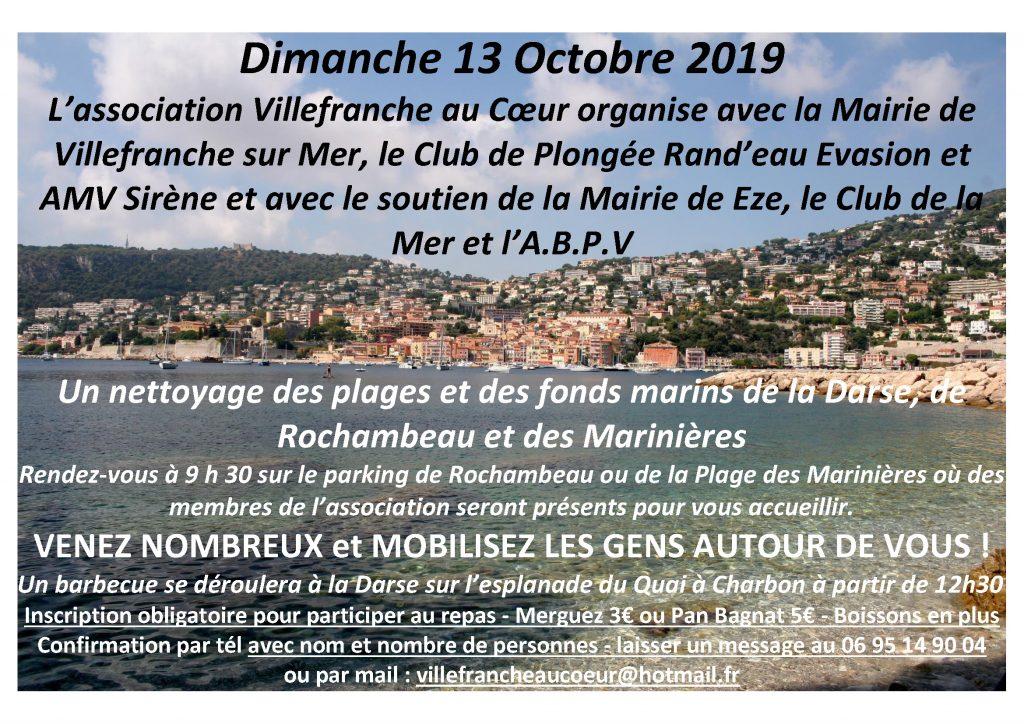 Nettoyage des plages et des fonds marins de la Darse, de Rochambeau et des Marinières
