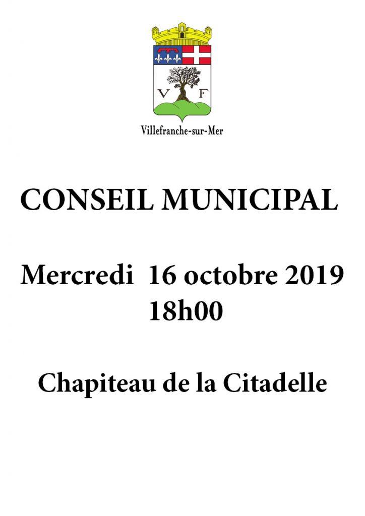 Conseil Municipal @ Chapiteau de la Citadelle