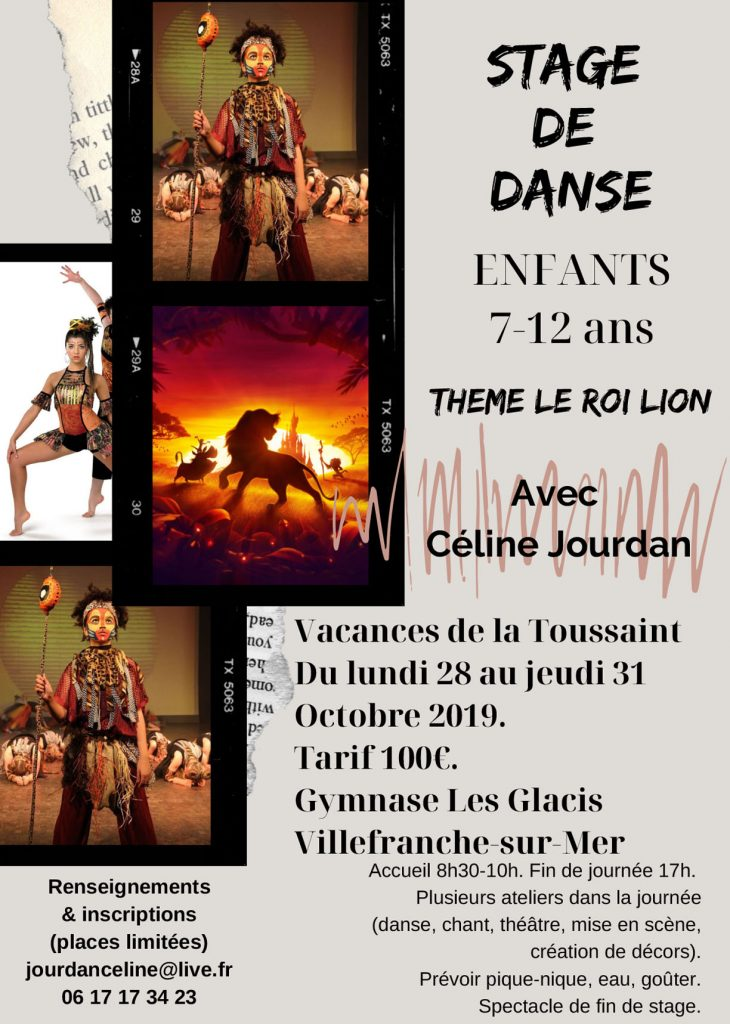 Stage de danse - ROI LION @ Gymnase des Glacis