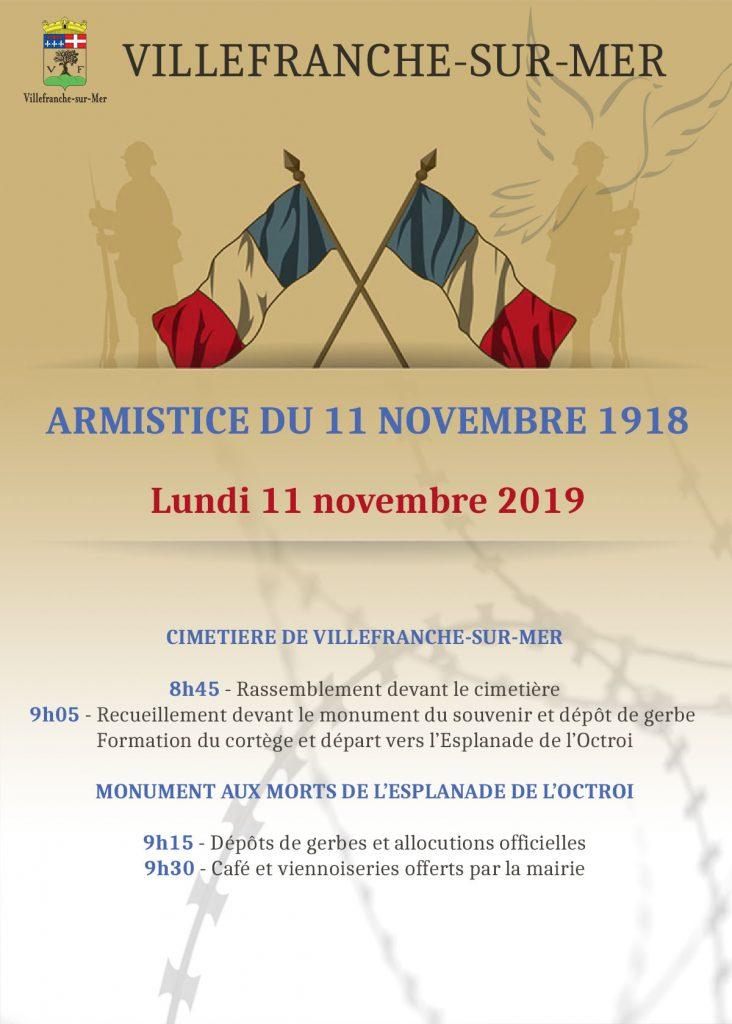 L'armistice du 11 novembre