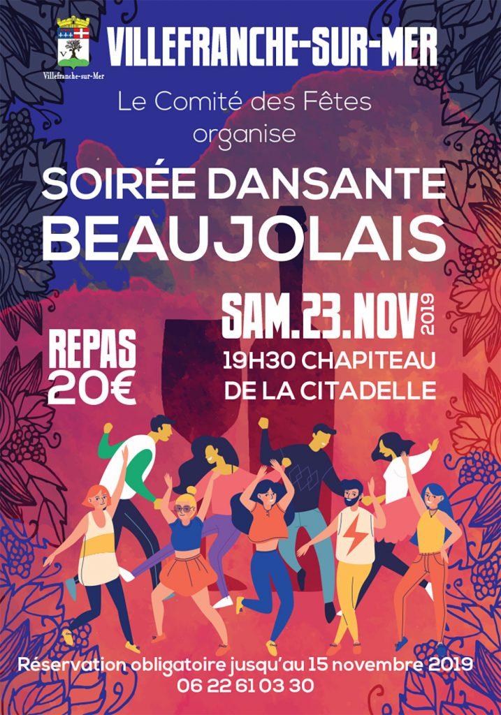 Soirée dansante - Beaujolais @ Chapelle Sainte Elisabeth