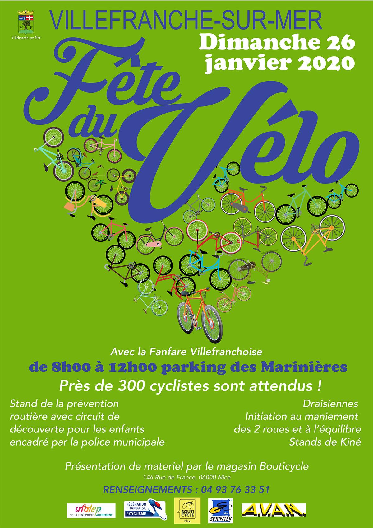 La Fête du Vélo à Villefranche-sur-Mer