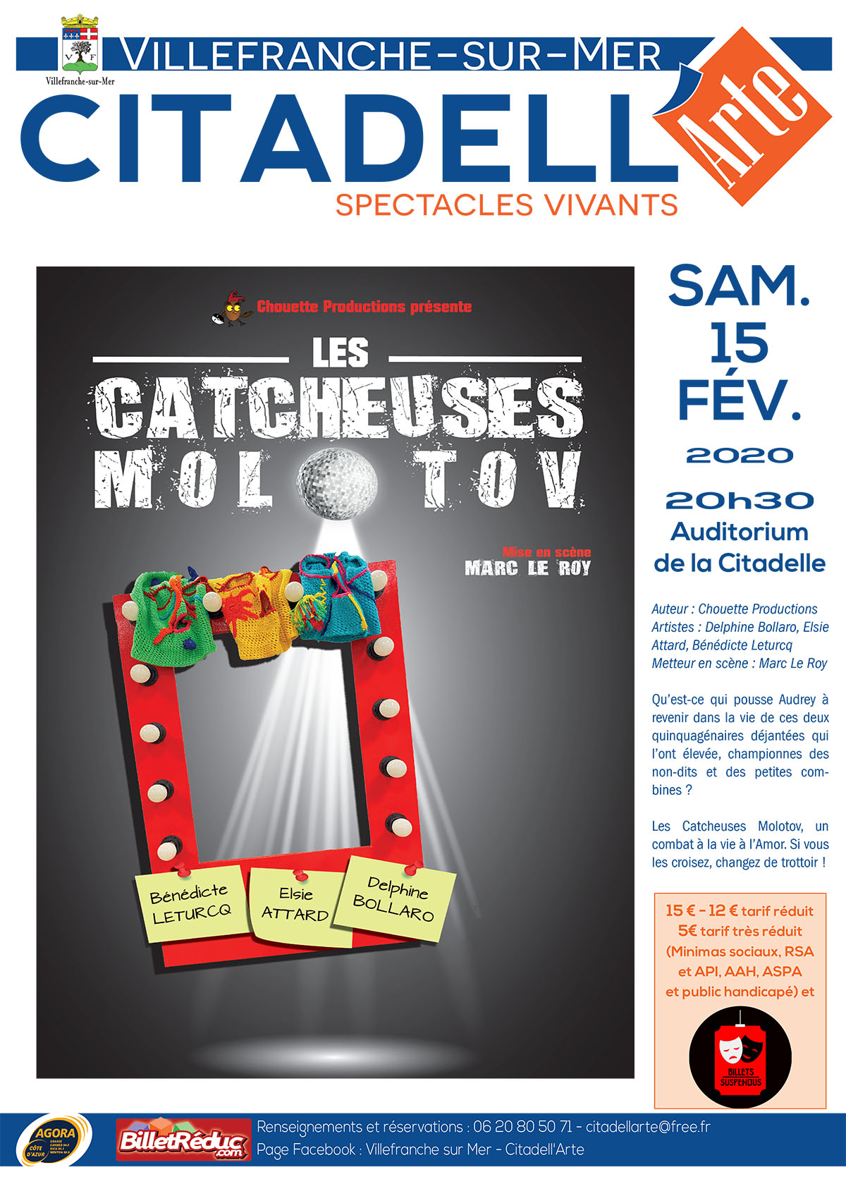 Citadell'Arte - Les Catcheuses Molotov