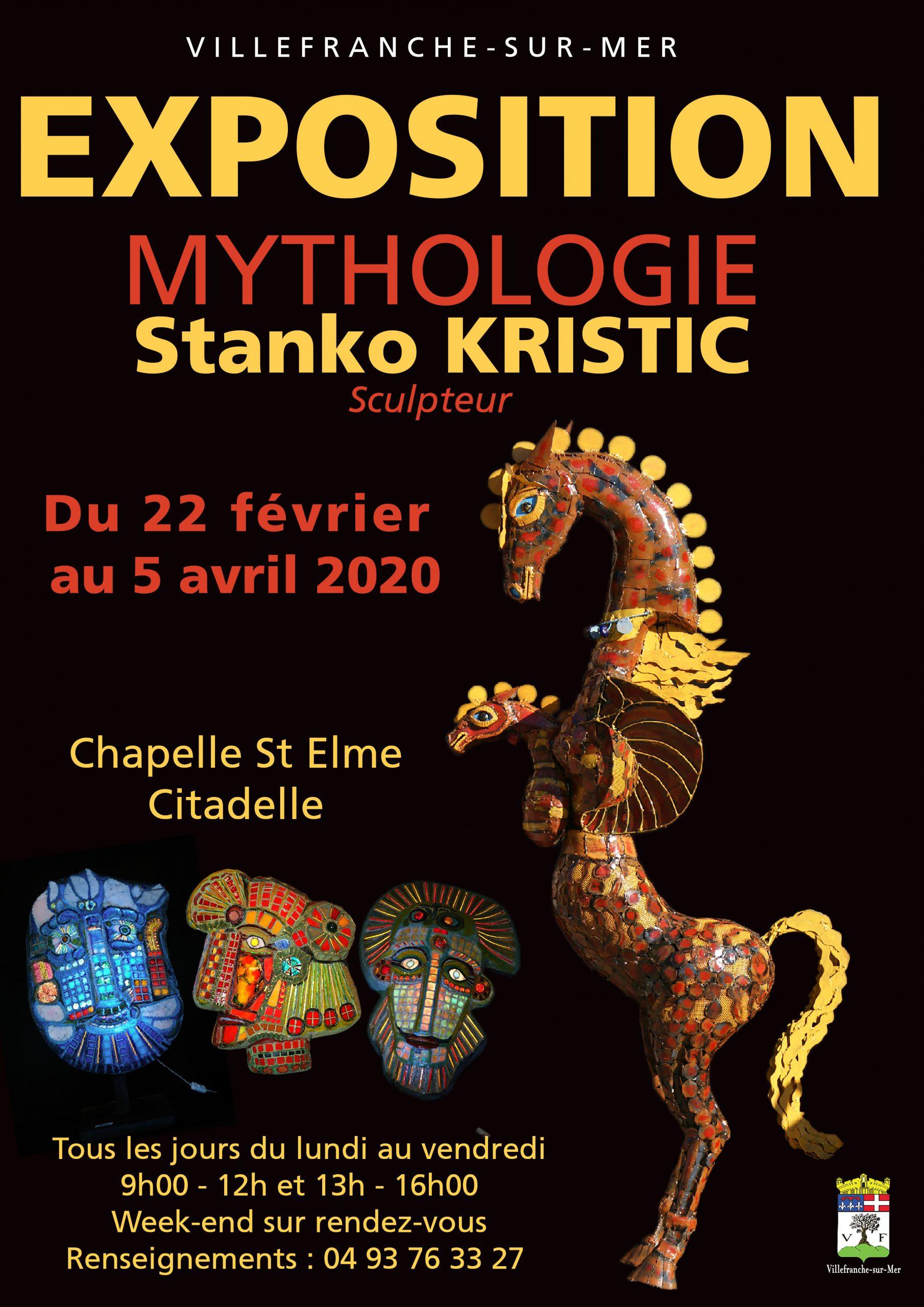 Vernissage et Exposition - Mythologie de Stanko Kristic
