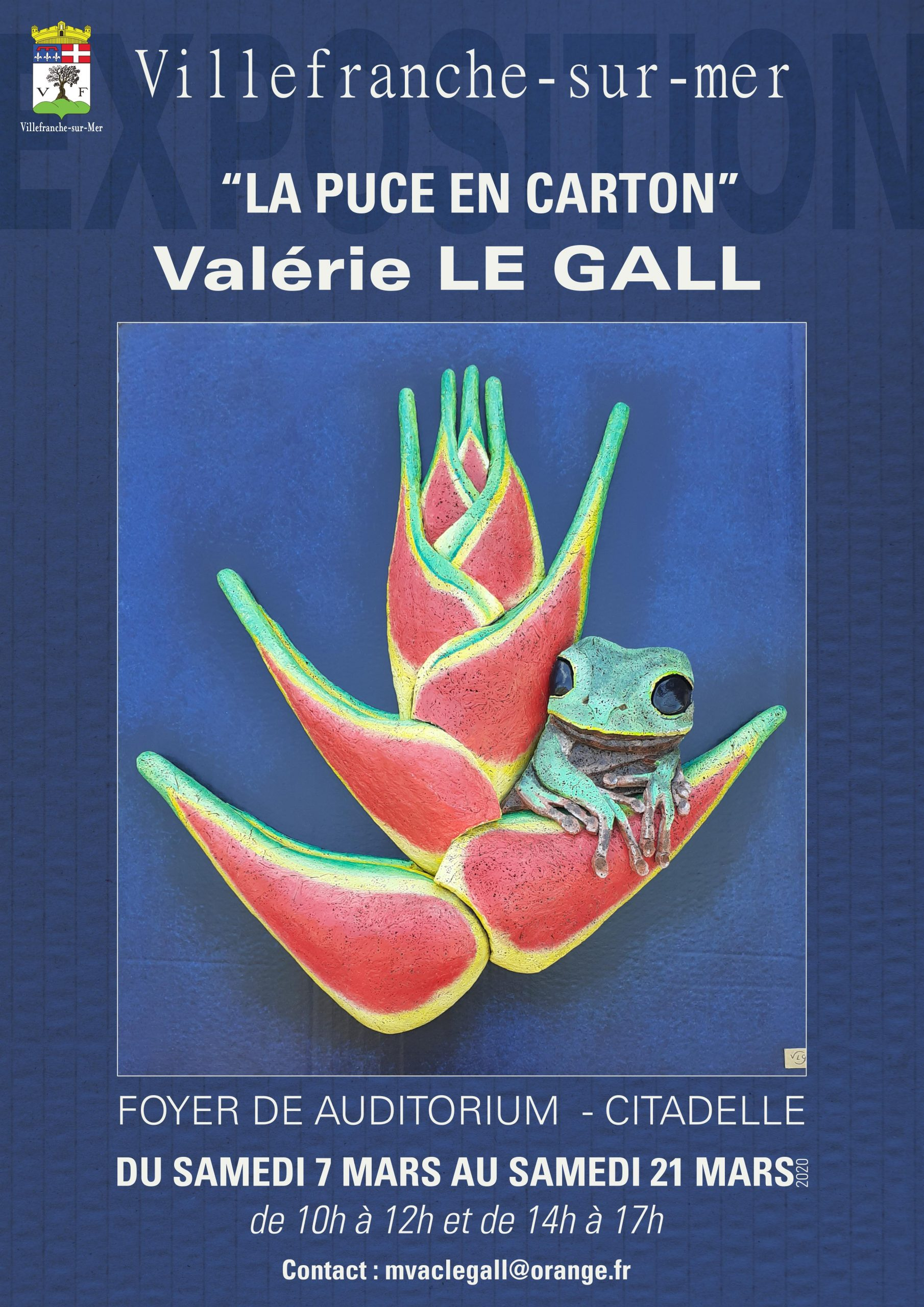 Affiche Expo Le Gall