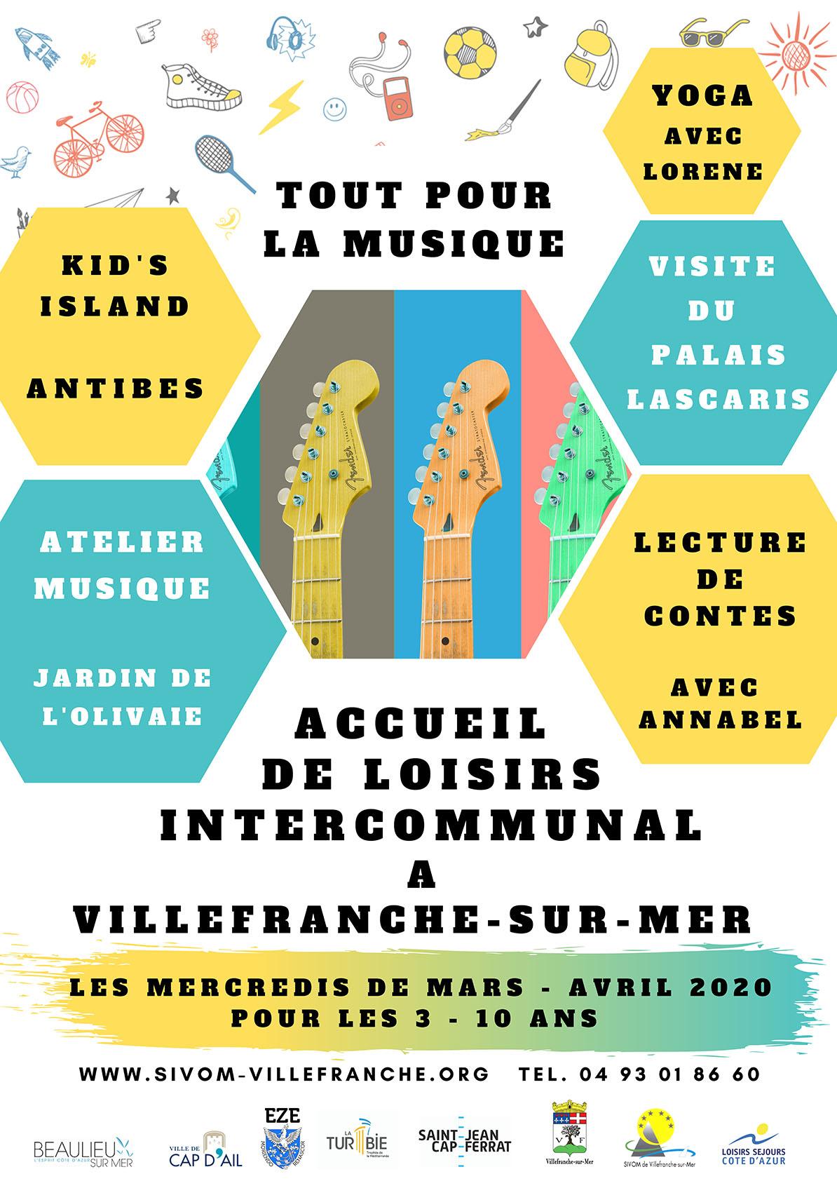 Accueil de loisirs intercommunal - Les mercredis de Mars & Avril 2020