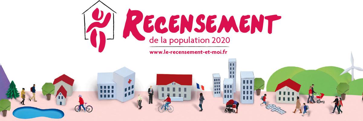 Recensement de la population en cours pour l'année 2020
