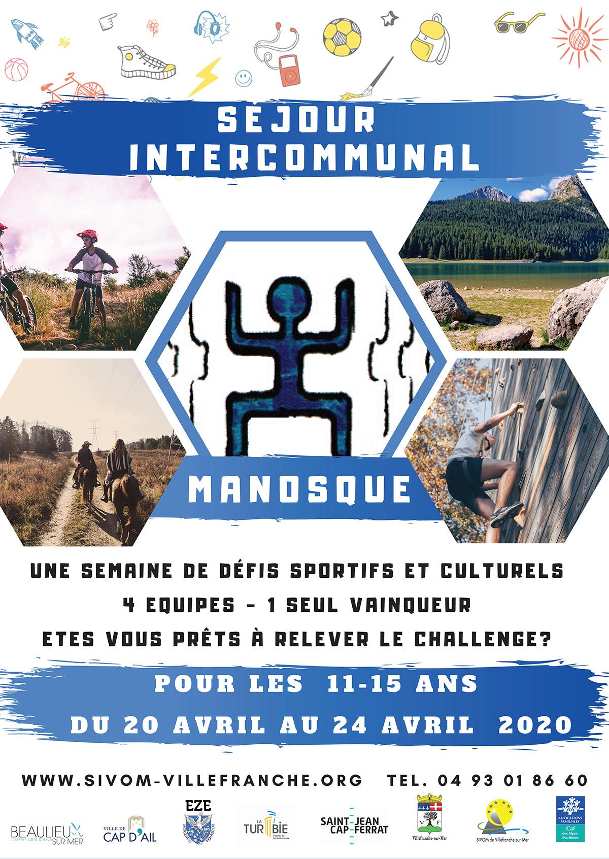 Séjour Intercommunal - Manosque pour les 11-15 ans