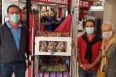 Don de chocolats en faveur des EHPAD de Villefranche-sur-Mer