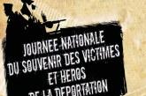 Journée nationale du souvenir des victimes et des héros de la déportation – 26 avril 2020